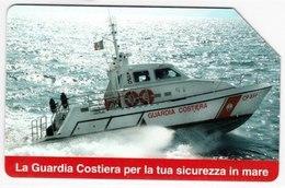 SCHEDA TELEFONICA USATA 532 GUARDIA COSTIERA - Italy