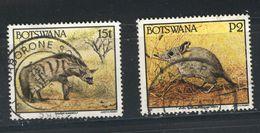 Botswana - 1992 - Used - Wild Animals - Fauna - Oblitéré - Animaux - Botswana (1966-...)