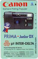 INDONESIA INDONESIEN  INDONESIE -IND P 391-P 395 CANON.- MINT RRR - Indonesia