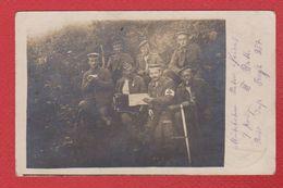 Carte Photo  - Soldats Allemands - Infirmier - War 1914-18