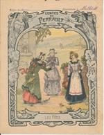 Couverture De Cahier - Contes De Perrault, Les Fées - Godchaux - Protège-cahiers