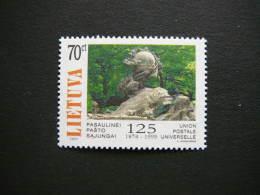125th Anniversary Of UPU # Lietuva Litauen Lituanie Litouwen Lithuania 1999 MNH # Mi. 700 - Lithuania