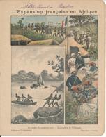 Couverture De Cahier - Expansion Française En Afrique, Les Rapides Du M'Bomou - Charier, Saumur - Book Covers