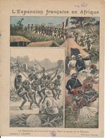 Couverture De Cahier - Expansion Française En Afrique, Les Dahoméens - Charier, Saumur - Book Covers