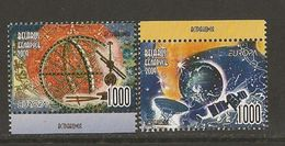"BIELORRUSIA/BELARUS /WEISSRUSSLAND - EUROPA 2009 - TEMA ""ASTRONOMIA"" - SERIE De 2 V. . DENTADA  (PERFORATED) - Europa-CEPT"