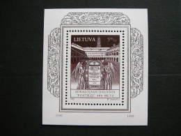 Publication Of Postilla Catholicka # Lietuva Litauen Lituanie Litouwen Lithuania 1999 MNH # Mi. 686 Block 15 - Lithuania