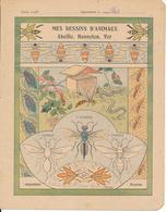 Couverture De Cahier - Mes Dessins D'Animaux - Godchaux - Book Covers