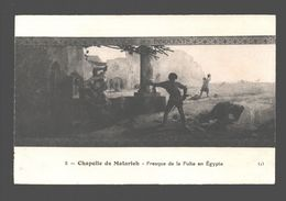 Heliopolis - Chapelle De Matarieh - Fresque De La Fuite En Egypte - Caïro