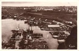Photo Originale Algérie - Vue Sur Le Port Maritime Au Nord-Ouest De La Commune D'Oran Vers 1949 - Oran