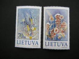 Christmas # Lietuva Litauen Lituanie Litouwen Lithuania 1999 MNH # Mi. 715/7 - Lithuania