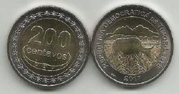 Timor 200 Centavos 2017. Bimetallic High Grade From Bank Bag - Timor