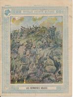 Couverture De Cahier - Nouvelles Anecdotes Militaires, Les Dernières Volées - Schuehmacher - Protège-cahiers