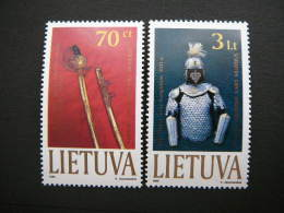 Museum Exhibits # Lietuva Litauen Lituanie Litouwen Lithuania 1999 MNH # Mi. 712/3 - Lithuania
