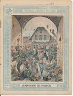 Couverture De Cahier - Nouvelles Anecdotes Militaires, Déménagement Des Prussiens - Schuehmacher - Protège-cahiers