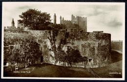 RB 1185 - Real Photo Postcard - Deal Castle & Canon Cannon - Kent - England