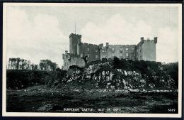 RB 1185 - J.B. White Postcard - Dunvegan Castle Isle Of Skye Inverness-shire Scotland - Inverness-shire