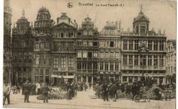 Bruxelles  Le Grand Place - Wereldtentoonstellingen