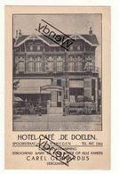 Nijmegen - Hotel-Café De Doelen Spoorstraat 11 - Nijmegen