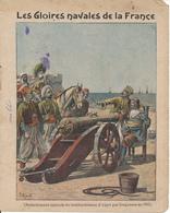 Couverture De Cahier - Les Gloires Navales, Choiseul Sauvé Par Duquesne - Charier, Saumur - Book Covers