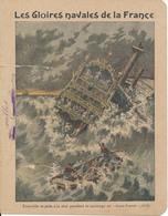 Couverture De Cahier - Les Gloires Navales, Tourville - Charier, Saumur - Protège-cahiers
