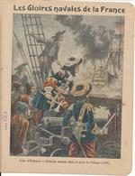 Couverture De Cahier - Les Gloires Navales,  Jean D'Estrées - Charier, Saumur - Book Covers