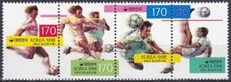 Korea Südkorea 1998 Sport Spiele Ballspiele Ballsportarten Fußball Football Soccer, Mi. 1973-6 ** - Korea (Süd-)