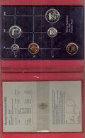 NEDERLAND PROOFSET MUNTEN 1982 HET MOEILIJKSTE JAAR MET JAARPENNING - [ 3] 1815-… : Royaume Des Pays-Bas