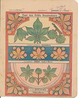 Couverture De Cahier - Pour Nos Petits Dessinateurs, Marronnier... - Godchaux - Book Covers