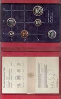 NEDERLAND PROOFSET MUNTEN 1983 MET ZILVEREN JAARPENNING - [ 3] 1815-… : Kingdom Of The Netherlands
