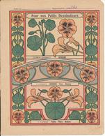Couverture De Cahier - Pour Nos Petits Dessinateurs, Capucine... - Godchaux - Book Covers