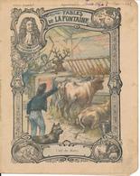 Couverture De Cahier - Fables De La Fontaine, L'Oeil Du Maître - Godchaux - Book Covers