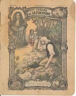 Couverture De Cahier - Fables De La Fontaine, L'Avare.. - Godchaux - Book Covers
