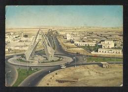 United Arab Emirates UAE Dubai Picture Postcard Aerial View Deira Clock Tower Dubai View Card U A E - Dubai