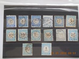 Sevios / Netherlands / Stamps **, *, (*) Or Used - Strafportzegels