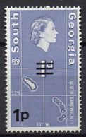 South Georgia - 1971 - N° Yvert : 26 ** - Série Courante - Géorgie Du Sud