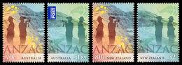 Australia-Nuova Zelanda / Australia-New Zealand 2015: 2 Serie ANZAC / ANZAC, 2 Stamp Sets ** - Joint Issues