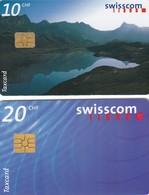 11503-N°. 2 TAXCARDS-USATE - Suisse