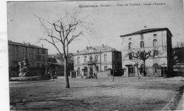 BEDARIEUX  Place Du Pavillon .Caisse D'Epargne - Bedarieux