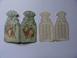 Calendrier De Poche 1892 BOISSIER PARIS - Calendriers