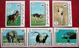 Mauritania  Mauretanien  1978   6 V  MNH - W.W.F.