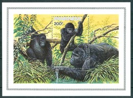 1985 Rwanda Chimpanzee Scimmie Monkey Singes MNH** Fiog58 - Rwanda