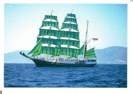 Dreimastbark ALEXANDER VON HUMBOLDT (1906) - Modern Card - Segelboote