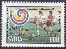 Syrien Syria 1988 Sport Spiele Olympia Olympics Atlanta Fußball Football Soccer Ballspiele, Mi. 1726 ** - Syrien