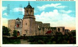 Mission San Jose - Second Mission, San Antonio, Texas - San Antonio