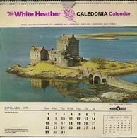 Calendrier Format 20x21 écossais - Big : 1971-80