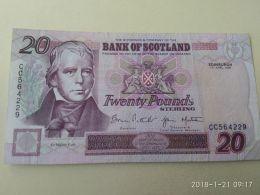20 Pounds 1998 - Scozia