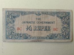1/4 Rupee 1942 - Giappone