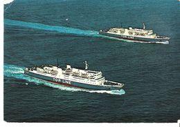 TOR LINE - Fährschiffe Tor Anglia + Tor Hollandia - Handel