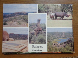 Africa / Zimbabwe, Matopos --> Written - Zimbabwe