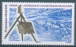 French Antarctic (FSAT), CRAC-ICE Program, 2010, MNH VF - Unused Stamps